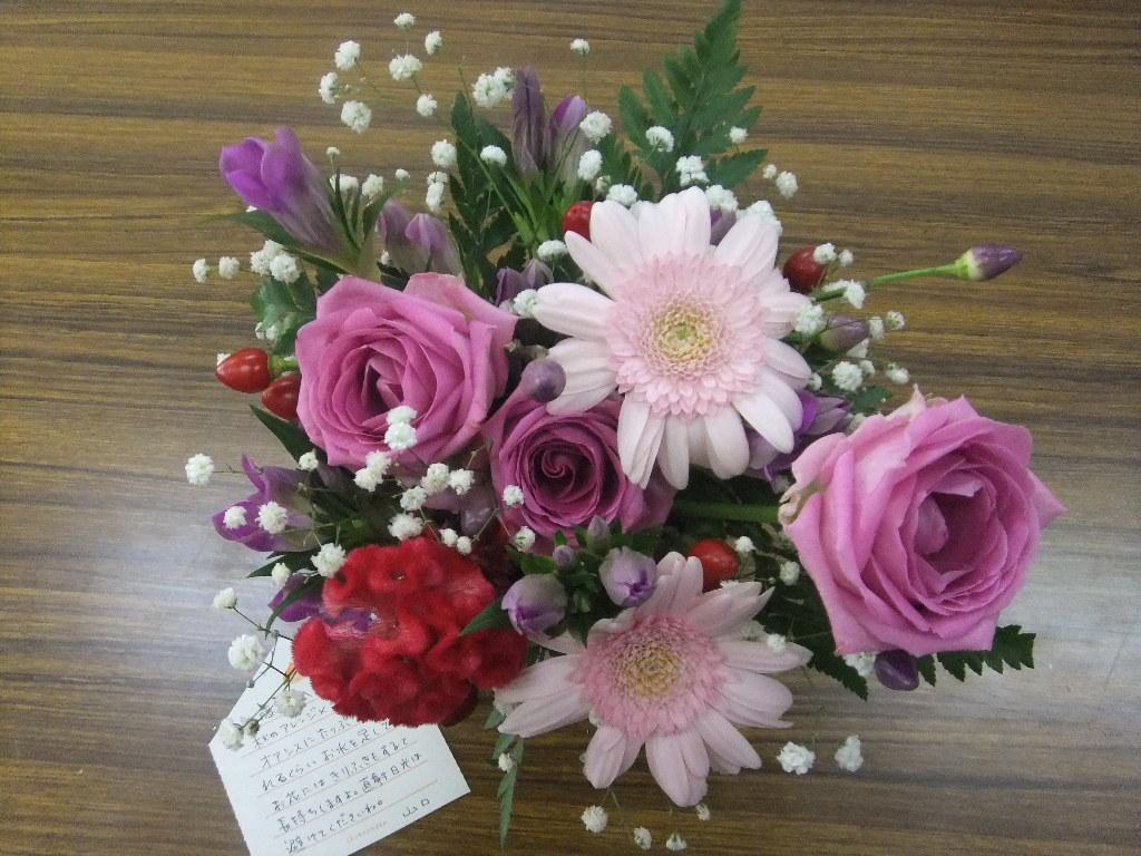 きれいなお花・・・(*^O^*)