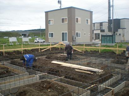 M1邸新築工事進捗状況